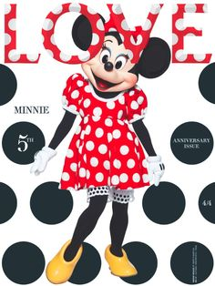 Minnie Mouse Gets the Love Magazine Treatment