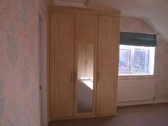 Triple fitted wardrobe by Moonlight Bedroom   #bedroom #furniture #ideas #yorkshire