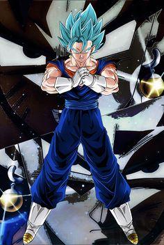 Super Vegito Blue Dragon Ball Gt, Dragon Z, Dragon Ball Image, Vegito Ssj Blue, Gogeta And Vegito, Goku Face, Majin, Digimon Adventure Tri, Son Goku