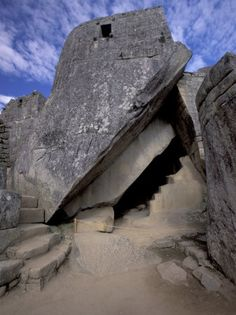 Temple of the Sun, Circular Window Marks June Solstice, Machu Picchu, Peru