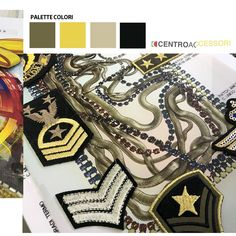 Patch and thousand of components for leather goods and clothes available