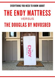 Mattress in a Box: Comparing the Douglas by Novosbed to the Endy Mattress - My Family Stuff Mattress In A Box, Comfort Mattress, Foam Mattress, Have A Good Night, Good To Know, My Family, Helpful Hints, Duvet Covers, Give It To Me