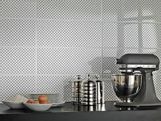 #Black&White | #ceramic #tiles for #kitchen | #Marazzi