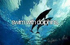 #1thing to do before I die!