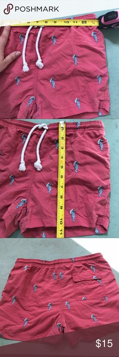 J. McLaughlin XL boy's swim trunks J. McLaughlin XL boy's swim trunks Would compare to boy's size 10/12. J. McLaughlin Swim Swim Trunks