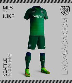 MLS by NIKE - Seattle Sounders