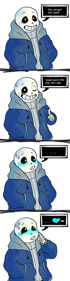 You Encountered a Flirting Sans! #Undertale#Sans