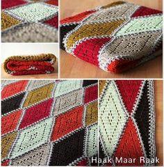 Haakpatroon Regenboog Deken Breien En Haken Pinterest Crochet