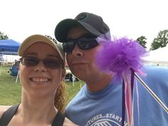 Relay for Life 2015 John & I walking for a great cause!