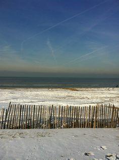 Noordwijk aan zee strand winter