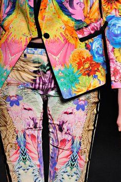 patterns on patterns: roberto cavalli s/s 2012