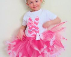 Easter tutu-- Bunny tutu-- Easter dress-- Girls Easter dress-- Girls Easter outfit-- Baby first Easter-- Easter tutu dress-- Easter shirt