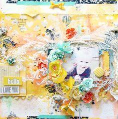 """Hello I Love You"" - Scrapbook.com"