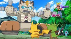 Pokemon Transform Optimus Meowth! Mega Mega Meowth Madness!~SaPi YouKi G...
