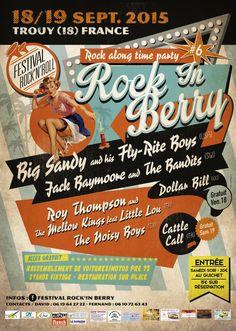 #6 Rock In Berry 18/19 Sept. 2015 Trouy (18) France.
