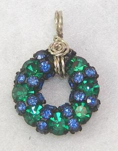 Spring Wreath.  $26.00. Contemporary Concepts : Handmade Jewelry : The Luella Collection