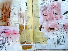 Orly Avineri. Collage. Now that's what I am talking about! Inspiring.