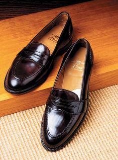 The Alden Slip-On Loafer in Cordovan