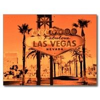 Famous Welcome to Vegas Sign Postcard