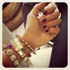 #Nails I'll be sporting for the #Polyvore Live #FashionShow #NYFW