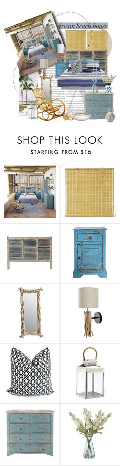 """""""Summer Reruns Home Scavenger Hunt: Beach Mansion Edition"""" by lacas ❤ liked on Polyvore featuring interior, interiors, interior design, home, home decor, interior decorating, Avignon, Nate Berkus, DK Living and Shabby Chic"""