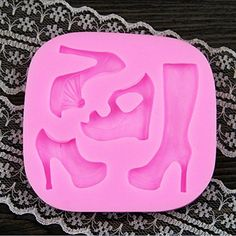 Highheeled Shoes High Heel Boots Silicone Fondant Mold Cake Decorating Pastry Gum Pastry Tool Kitchen Tool Sugar Paste Baking Mould Cookie Pastry * Check out the image by visiting the link.