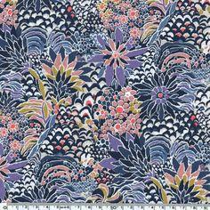 Liberty Constantine rose violet coloris C 20 x 137 cm - Liberty of London/Classiques et saisonniers - Motif Personnel