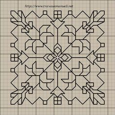 Motifs Blackwork, Blackwork Cross Stitch, Cross Stitch Borders, Cross Stitching, Cross Stitch Patterns, Kasuti Embroidery, Cross Stitch Embroidery, Embroidery Patterns, Graph Paper Art