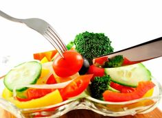 Importan fact: we must also remember that we eat three vegetables a day.