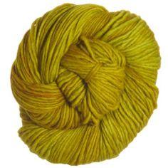 Malabrigo Worsted Merino Yarn - 035 - Frank Ochre