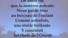"""Minuit chrétien in the Style of """"Traditionnel"""" with lyrics (no lead vocal) Christmas Carol, Lyrics, Songs, Music, Youtube, Style, Psalm 30, Biblical Verses, Noel"""