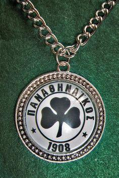 Panathinaikos Fc soccer teams pendants sport by sportpendants Soccer Teams, Pocket Watch, Unique Jewelry, Pendants, Handmade Gifts, Sport, Etsy, Accessories, Kid Craft Gifts