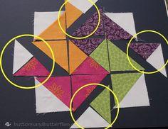 Buttons and Butterflies: Card Trick Block {Tutorial}