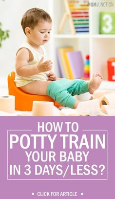 How To Potty Train Your Child In 3 Days Or Less?