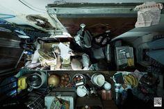 Fotos mostram como são por dentro os apartamentos em Hong Kong