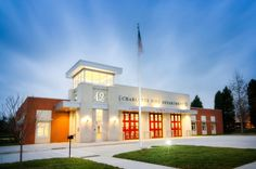 ADW Architects, P.A. - LEED Gold fire station in Charlotte
