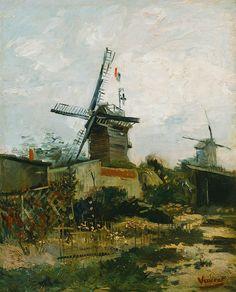 Van Gogh - Le Moulin de la Galette, 1886 | Art - Vincent van Gogh ...