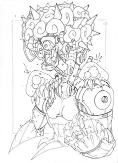Commish 107 WIP 03 by RobDuenas.deviantart.com on @deviantART