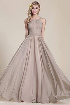 eDressit A Line Sleeveless Grey Bridesmaid Dress Grey Bridesmaids, Grey Bridesmaid Dresses, Bridesmade Dresses, Prom Dresses, Long Dresses, Brown Dress, Gray Dress, Formal Evening Dresses, Evening Gowns