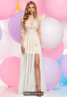 Shop Zoey Grey long designer prom dresses at PromGirl. Floor length prom dresses with beading and designer Zoey Grey long formal pageant gowns. Split Prom Dresses, Grey Prom Dress, Prom Dresses Long With Sleeves, A Line Prom Dresses, Ball Dresses, Ball Gowns, Seshweshwe Dresses, Dress Lace, Chiffon Dress