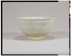 White porcelain bowl Korea, Joseon dynasty, 16th c National Museum of Tokyo Korean Porcelain , Art , Jade , Glass,  Wood and Antiques : More At FOSTERGINGER @ Pinterest