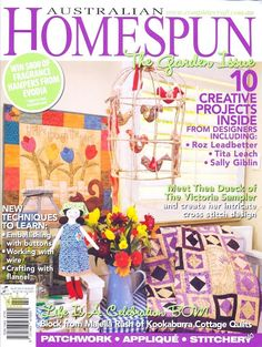 Homespun 87 - The Garden Issue - Jôarte arquivo - Álbumes web de Picasa