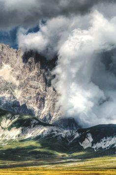 - Gran Sasso, Italy by Chaos Lab Snowy Mountains, Colorado Mountains, Rocky Mountains, Appalachian Mountains, Spiritual Eyes, Italy Images, Paradise On Earth, Mountain Hiking, Wonderful Places