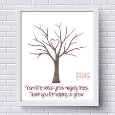 Class fingerprints for great for principals day gift ... |Leave Your Fingerprint Quotes