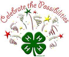 Image result for 4-H celebration clip art