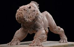 Guillermo Del Toro discarded Churchill mutant. Oh Yes!