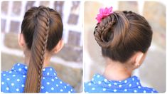 Lace Braided Ponytail and Updo | Cute Hairstyles