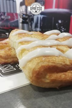 Pop into your local Xpresso for your sugar fix! 🥳 Apple Danish, Cinnamon Twists, Danishes, Something Sweet, Best Coffee, Hot Dog Buns, Sandwiches, Menu, Sugar