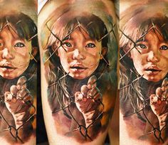 Realistic Tattoo by Domantas Parvainis | Tattoo No. 13678