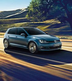 Think outside the box with the innovative Volkswagen Golf. With a turbocharged engine and sleek design, the Golf is truly a modern hatchback. Volkswagen Polo, Volkswagen Golf Cabriolet, Vw Golf Cabrio, Automobile, Diesel Cars, Canada, Small Cars, Germany, Autos